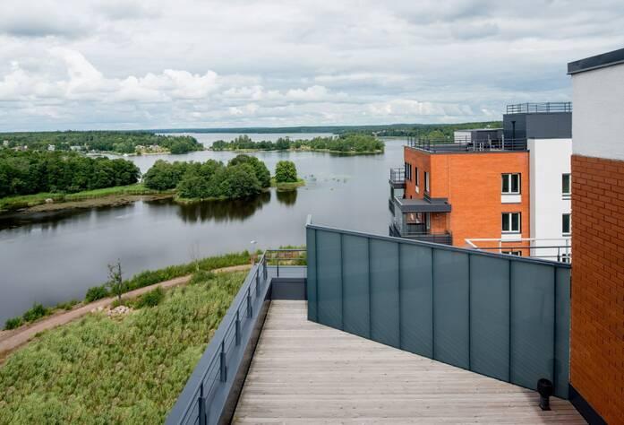 ЖК «Малая Финляндия»: строительство 2 очереди (октябрь 2015)