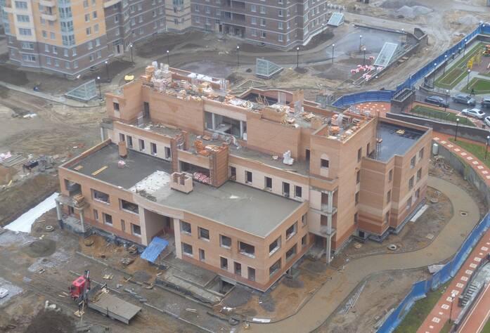 ЖК «Академ-Парк» (ноябрь 2015)