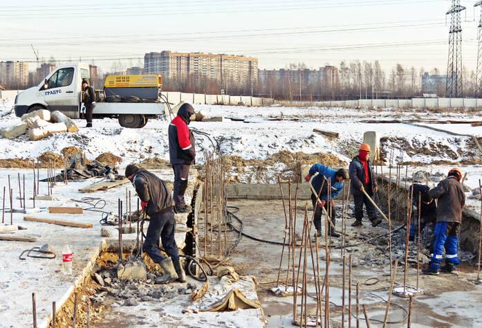 Ход строительства ЖК «Ленинградская перспектива» (ноябрь 2015)