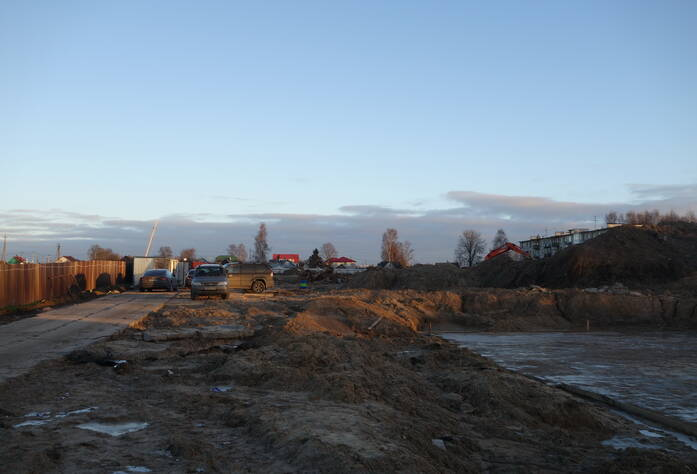ЖК «Дом с фонтаном»: ход строительства (декабрь 2015)