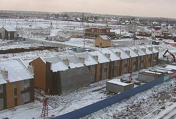 ЖК «Новые кварталы Петергофа»: ход строительства (декабрь 2015)