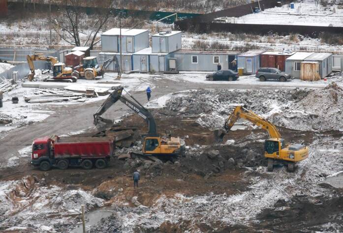 ЖК «Новоселье: городские кварталы». Квартал «Гамма»: ход строительства (декабрь 2015)