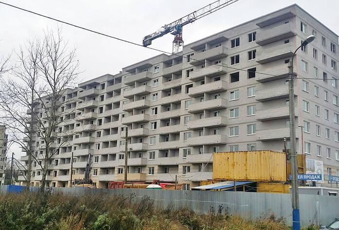Жилой комплекс «Новый дом на Восточной»: ход строительства (ноябрь 2015)