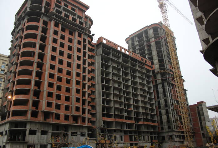 ЖК «Граф Орлов»: ход строительства (декабрь 2015)