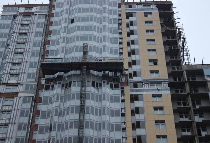 ЖК «Лондон Парк»: ход строительства (декабрь 2015)