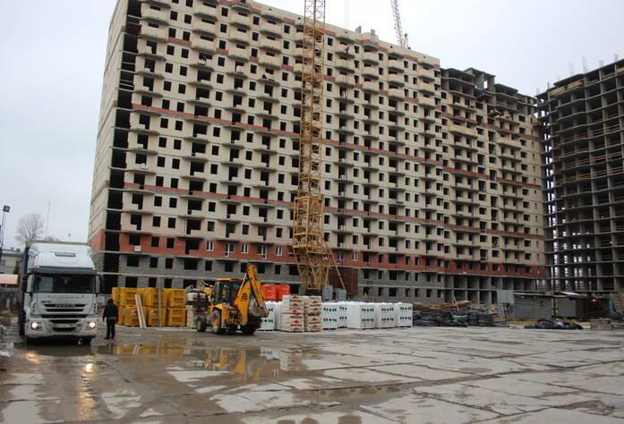 ЖК «Маршал»: ход строительства (декабрь 2015)