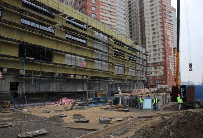 ЖК «Звездный»: ход строительства (декабрь 2015)