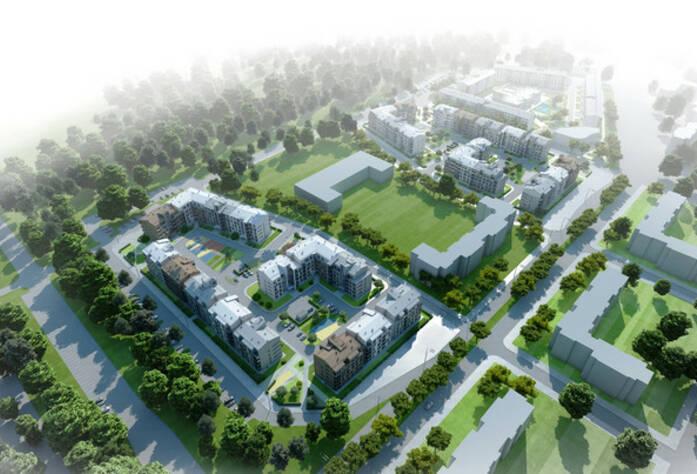 Жилой комплекс «Образцовый квартал 2» (визуализация)