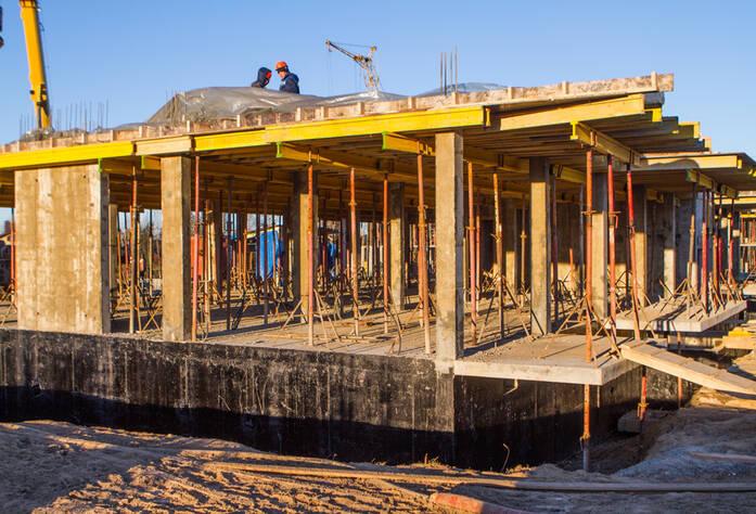 ЖК «Yolkki Village»: ход строительства (декабрь 2015)
