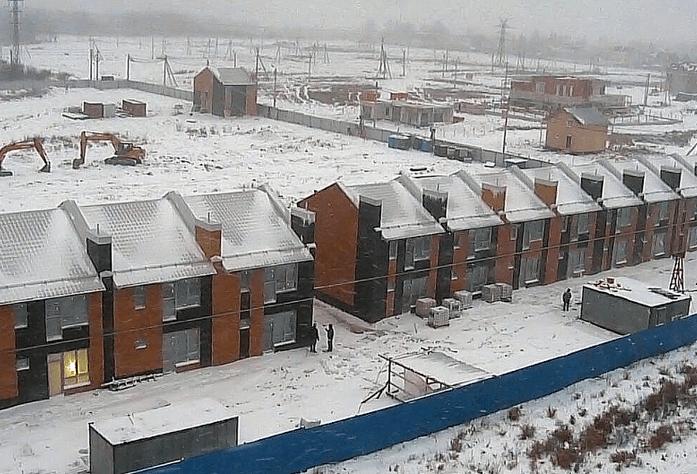 ЖК «Новые кварталы Петергофа»: ход строительства (январь 2016)