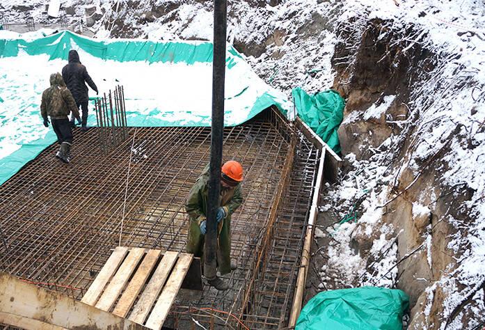 МФК «Елагин апарт» (строительная площадка 16.12.15)