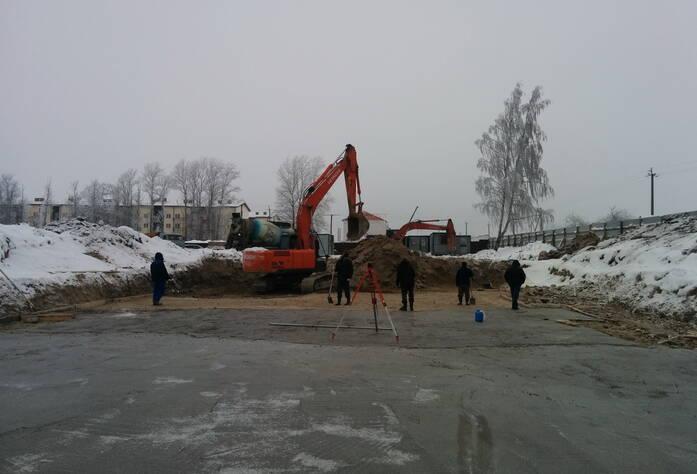Ход строительства ЖК «Дом с фонтаном» (январь 2016)