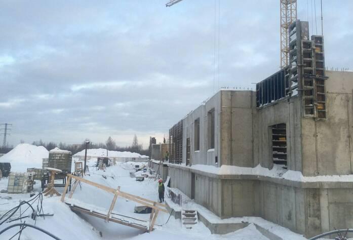 ЖК «Кировский Посад»: ход строительства (январь 2016)