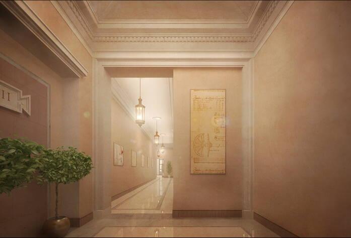 ЖК «Ренессанс» (визуализация, внутренний интерьер корпусов)