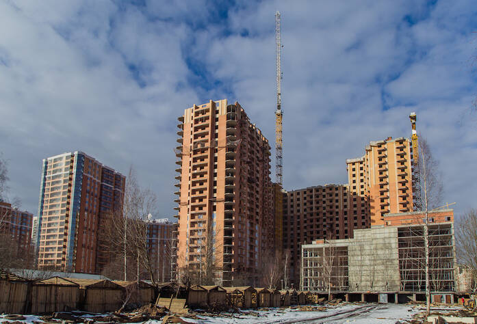 ЖК «Лиственный»: ход строительства (12 марта 2016)