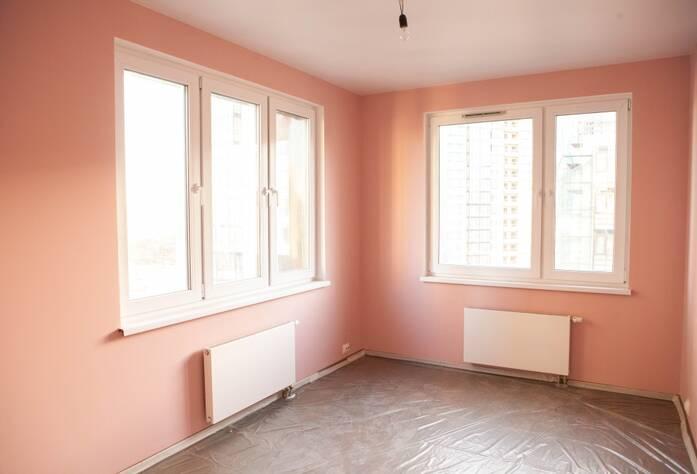 ЖК «LEGENDA на Оптиков, 34»: отделка комнаты (декабрь 2015)