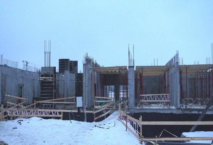 Ход строительства ЖК «GreenЛандия 2»: корпус 2.1 (февраль 2016)