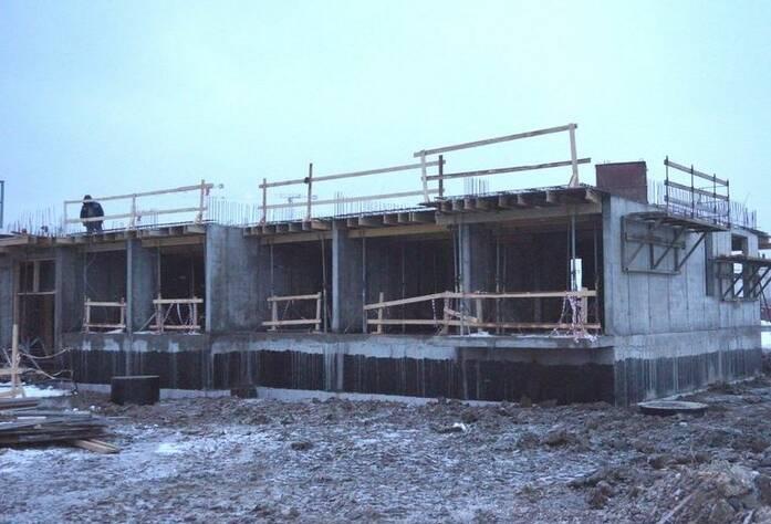 Ход строительства ЖК «GreenЛандия 2»: корпус 2.2 (февраль 2016)