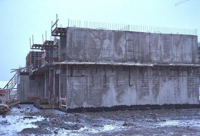 Ход строительства ЖК «GreenЛандия 2»: корпус 2.3 (февраль 2016)