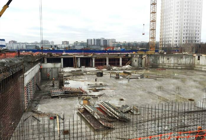 Жилой комплекс «Миллениум»: ход строительства (март 2016)