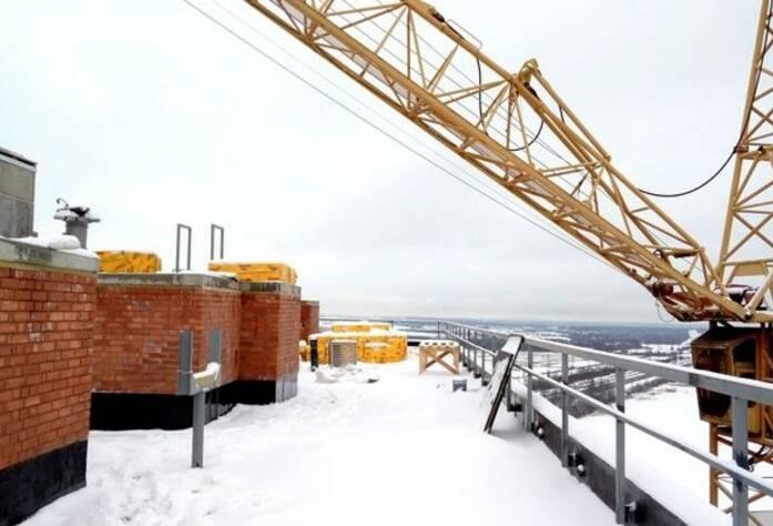 ЖК «Эланд»: ход строительства 7 корпуса (25.02.2016)