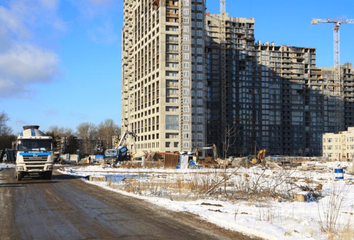 ЖК «Green City»: общий вид на комплекс (25.03.2016)