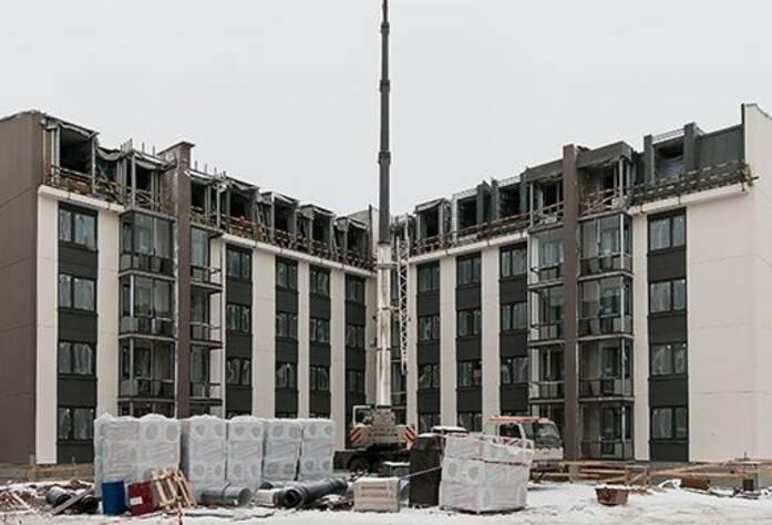 ЖК «Inkeri»: ход строительства корпуса 6 (февраль 2016)