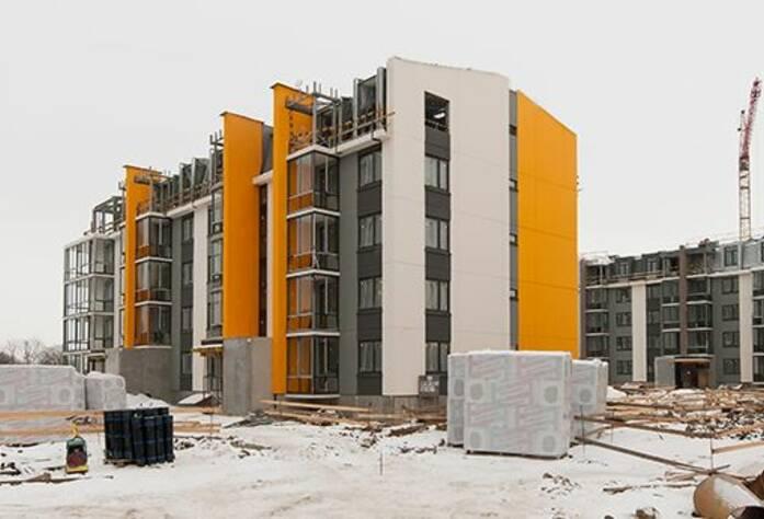 ЖК «Inkeri»: ход строительства корпуса 7 (февраль 2016)