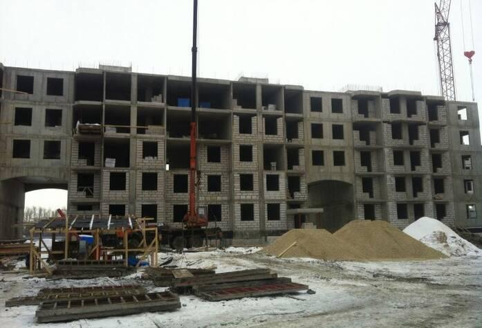 ЖК «Петергоф Парк»: ход строительства (март 2016)