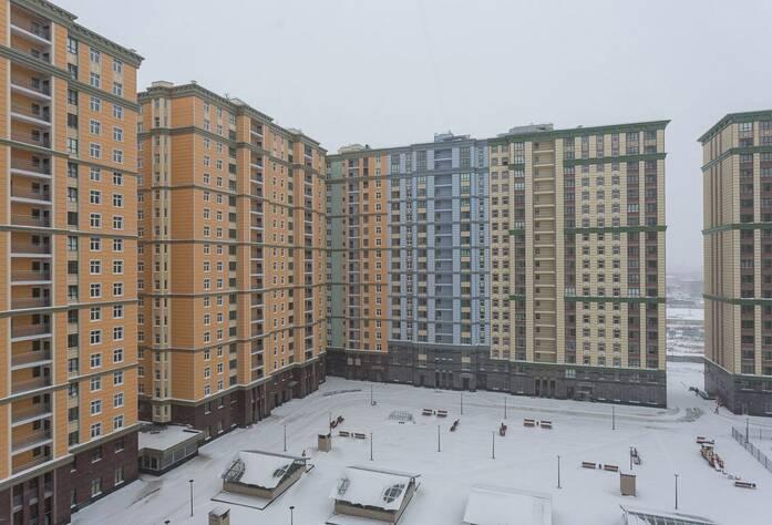 ЖК «Времена года»: ход строительства корпуса 3 (февраль 2016)