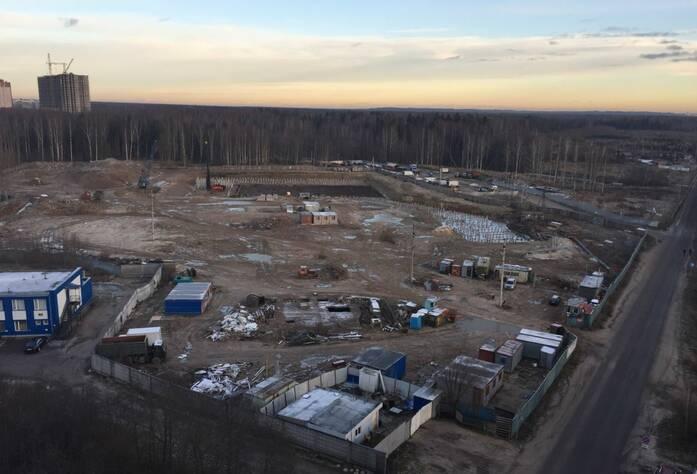 ЖК «Гамма»: место строительства корпуса 2