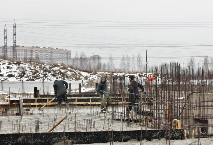Ход строительства ЖК «Ленинградская перспектива»: I очередь (март 2016)