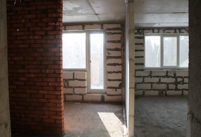 Жилой комплекс «Солнце»: ход строительства (внутри дома)