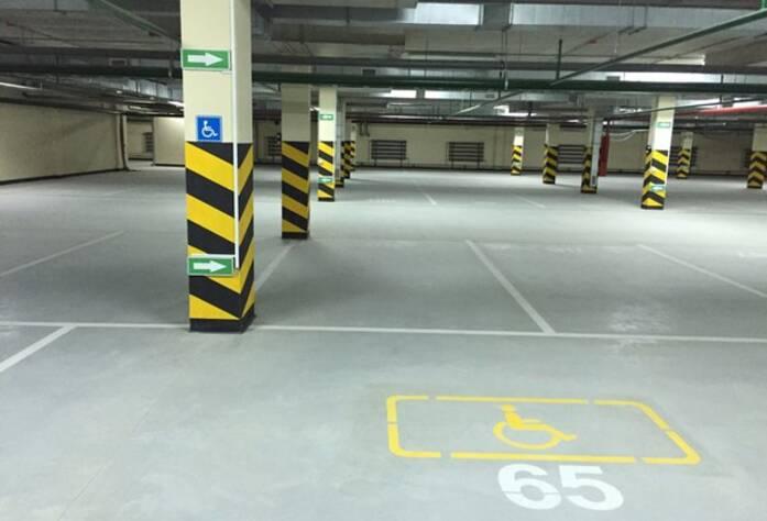 ЖК «Полежаевский Парк»: подземный паркинг (23.03.2016)