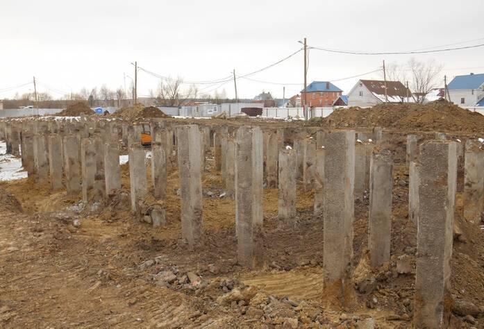 ЖК «Новоселье: городские кварталы»: квартал «Гамма» (март 2016)