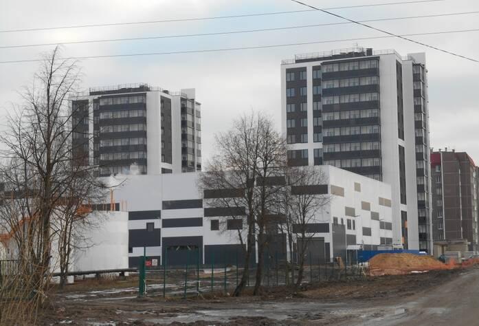 ЖК «Новоселье: городские кварталы»: квартал «Бета» (март 2016)