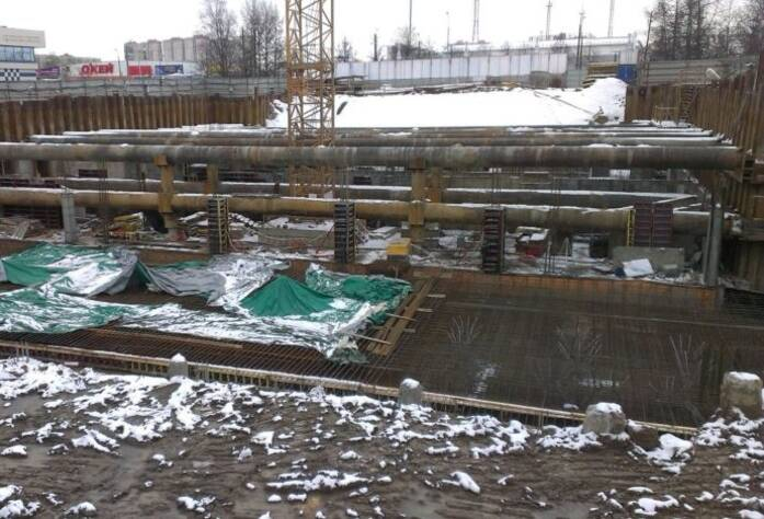 ЖК «Кремлевские звезды»: ход строительства (март 2016)