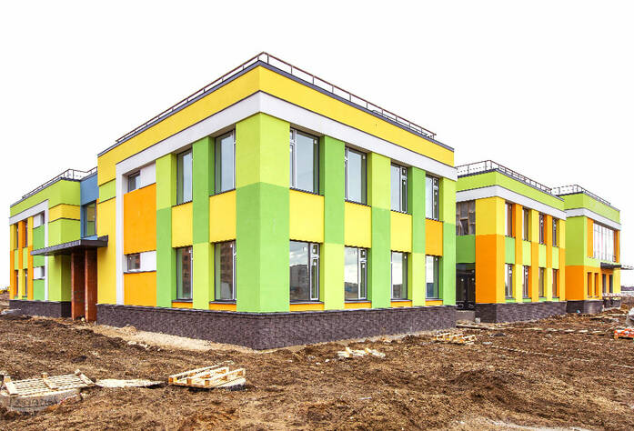 ЖК «NewПитер»: детский сад (март 2016)