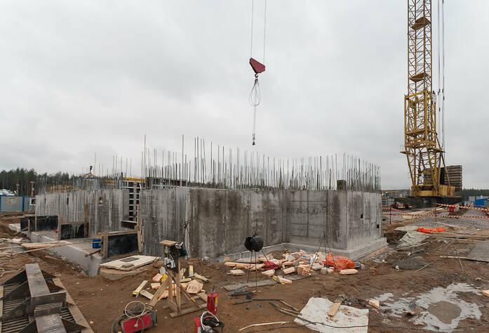 ЖК «Северный вальс»: ход строительства (15.03.2016)