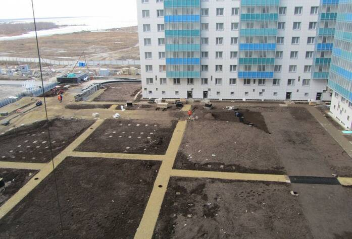 ЖК «Огни залива»: I очередь (23.03.2016)