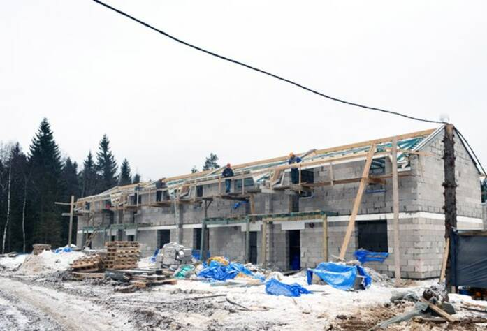 ЖК «Кивеннапа Север»: ход строительства III очереди (15.03.2016)