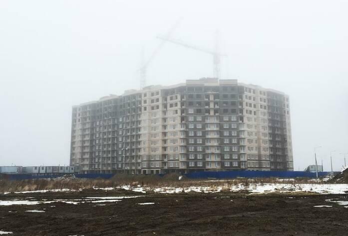 ЖК «Аннинский парк»: ход строительства корпуса 3 (18.03.2016)