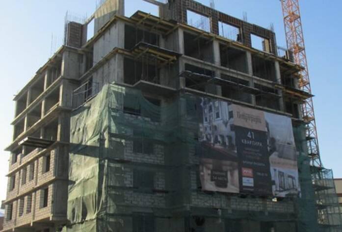 ЖК «Петроградец»: фасад.