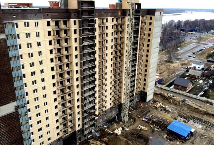 ЖК «Дом в Кировске»:  ход строительства (март 2016)