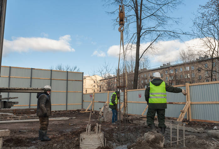 ЖК «Новый Лиговский»: ход строительства (март 2016)