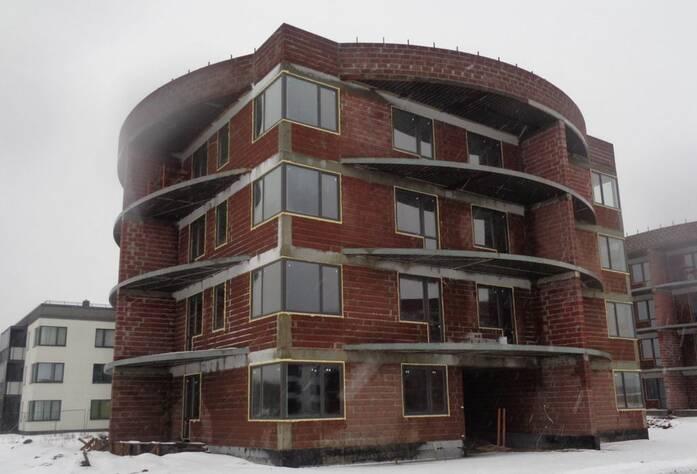 ЖК «Ванино»: ход строительства (27.01.2016)