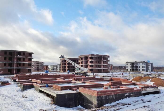 ЖК «Ванино»: ход строительства (29.01.2016)