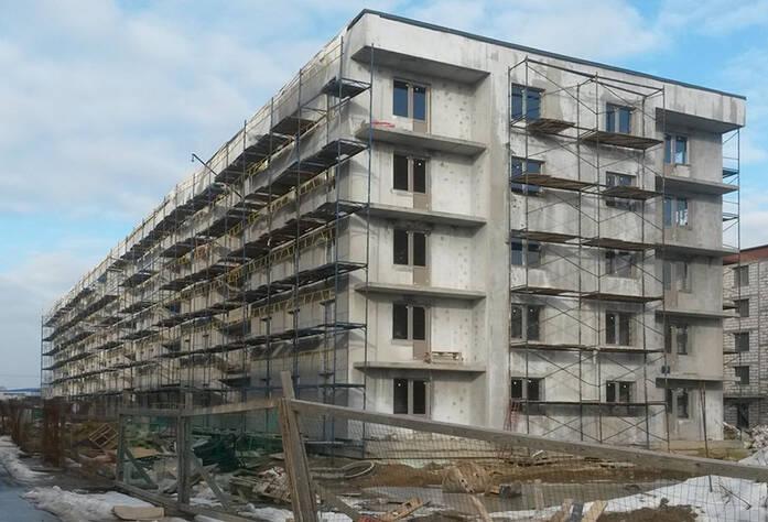 ЖК «Мандарин»: фасад к. 2 (11.03.2016)