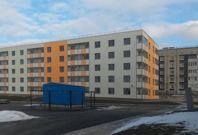 ЖК «Мандарин»: фасад к. 4 (11.03.2016)