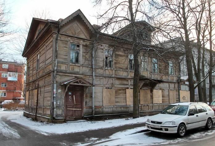 Вид на Дом Гильдебранта до реставрации